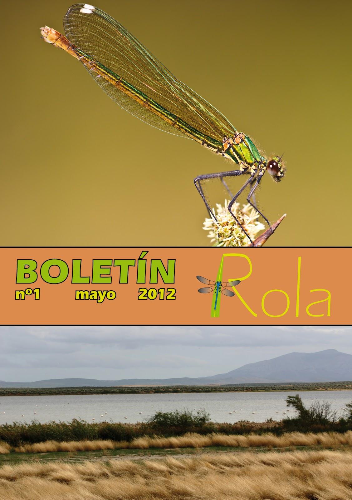 Boletín de la ROLA nº 1, mayo 2012
