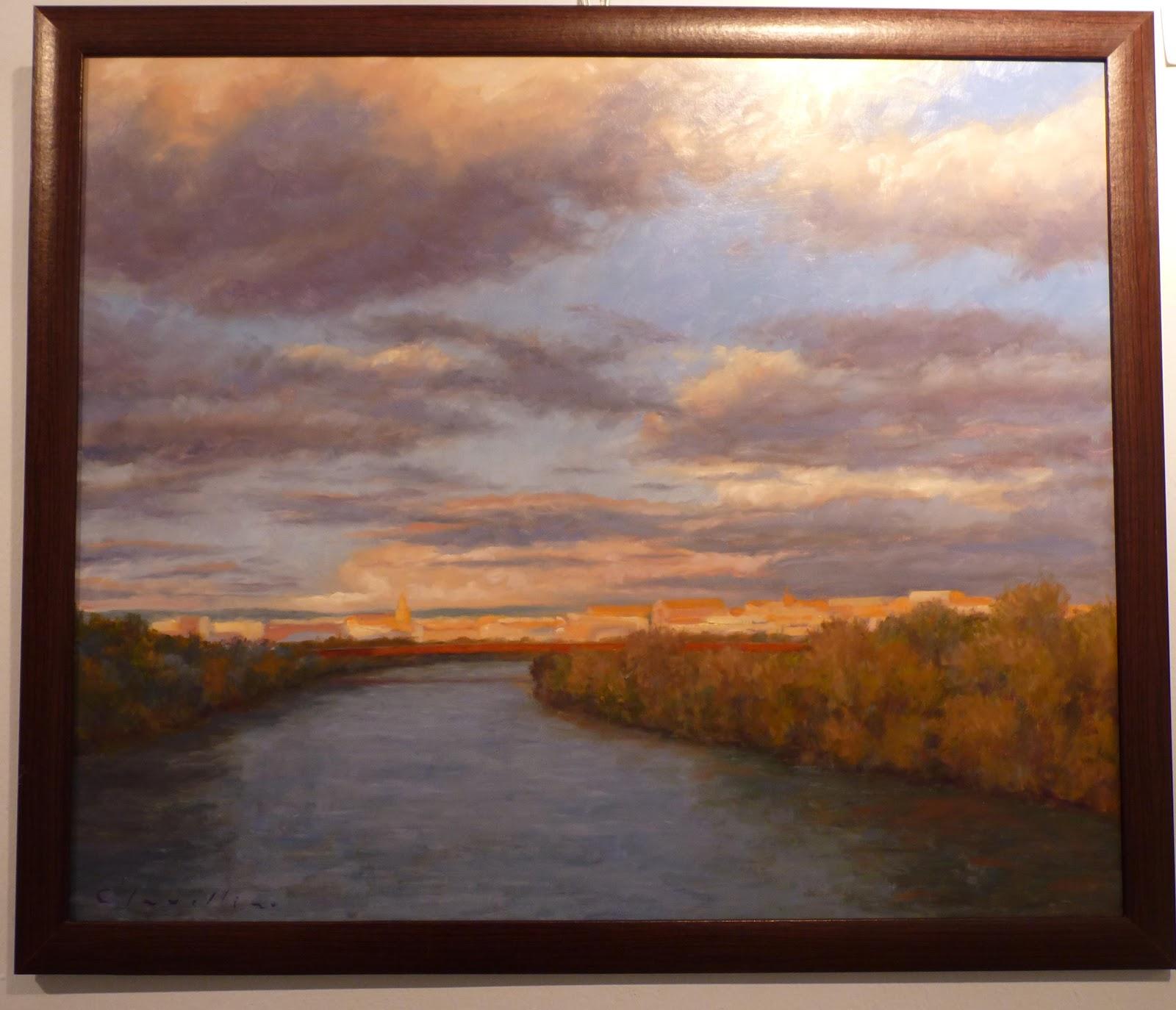 Primer Premio de Pintura «El Río visto desde el Sur»