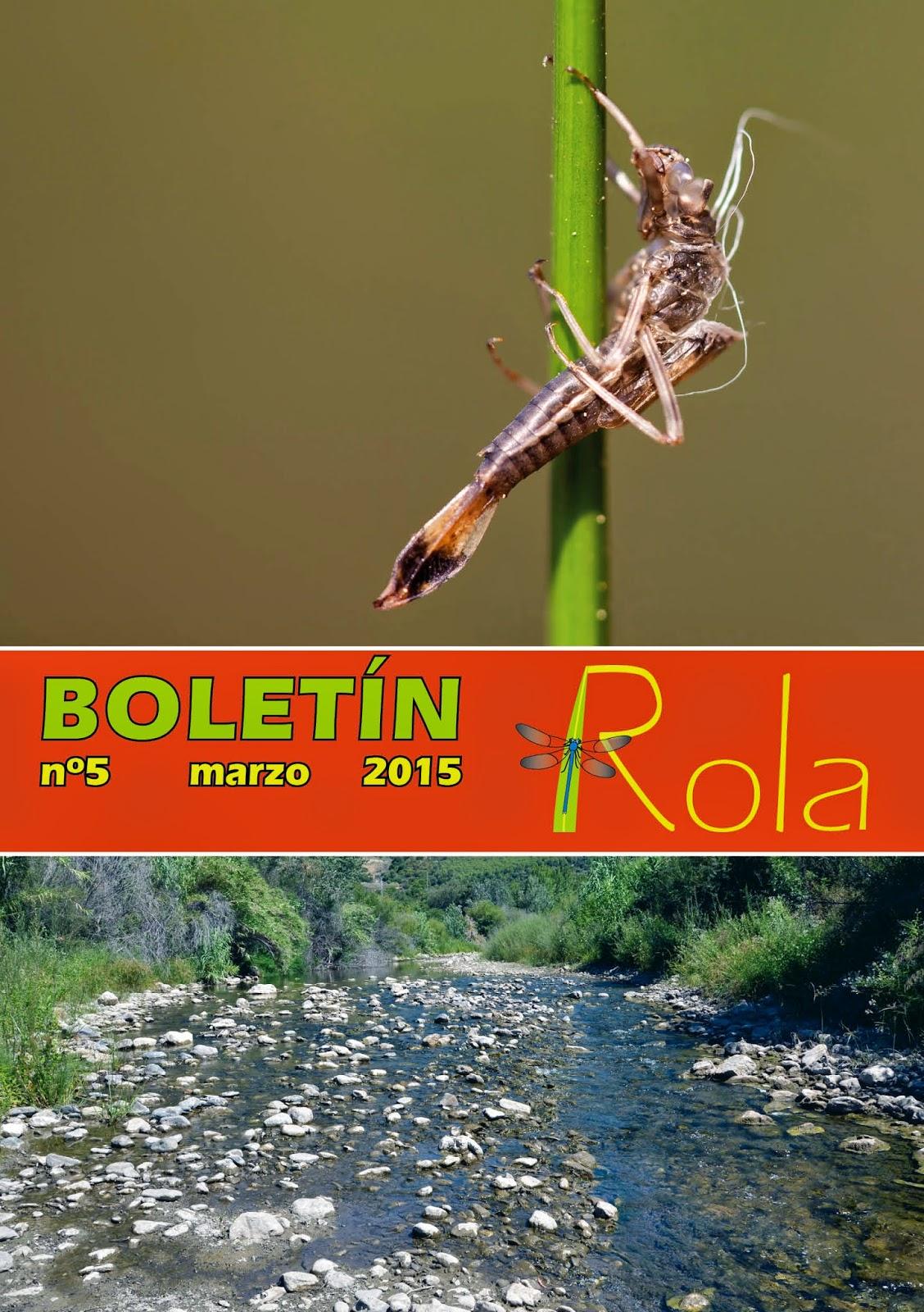 Boletín de la ROLA nº 5, marzo 2015