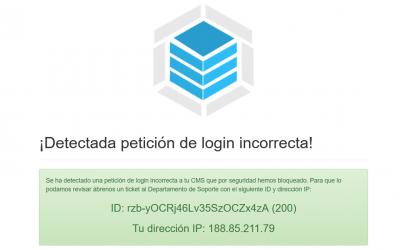 Acceso a los contenidos protegidos de la web